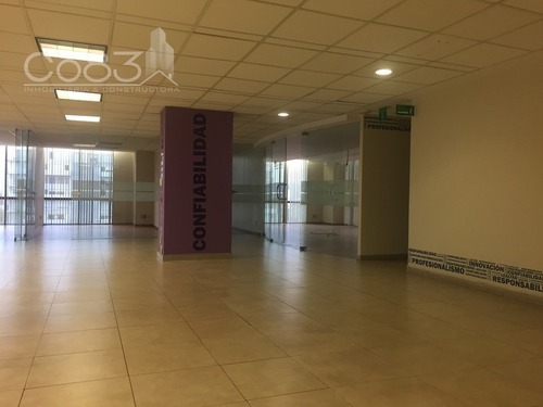 renta - oficina - lago victoria - 510 m2