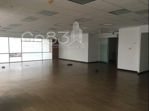 renta - oficina - punta santa fe - 198 m2