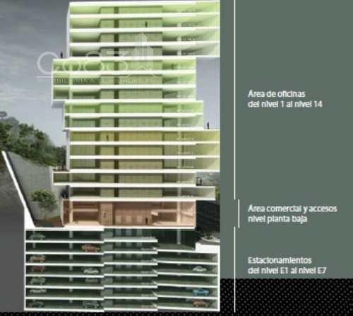 renta - oficina - tamarindos - 776 m - usd$17,382.40