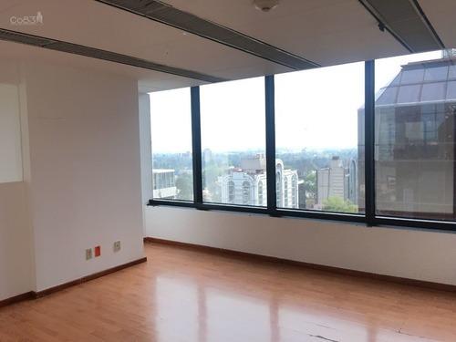 renta - oficina - torre diamante - 518 m2