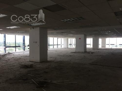 renta - oficina - torre zafiro i - 610 m2