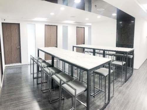 renta oficinas equipadas y co-working/business center excelente ubicación