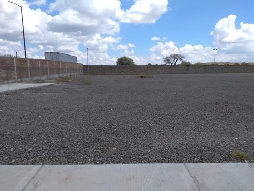 renta patio de maniobras. 4324 m2 ubicado en parque industrial novotech park