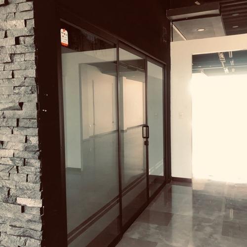 renta piso  oficinas blvd bonfil - zona plateada