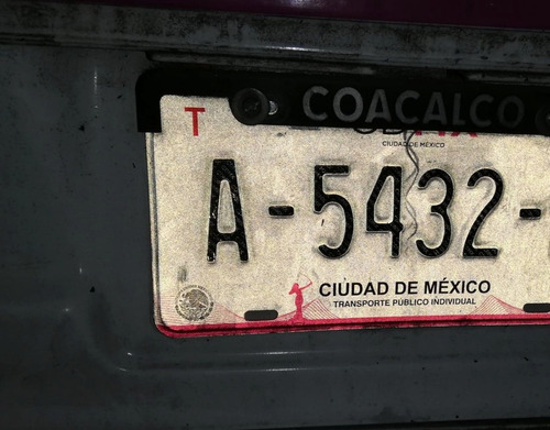 renta placas taxi cdmx $275 semanal