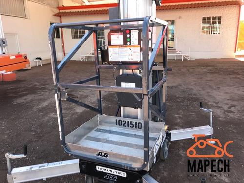 renta plataforma elevadora eléctrica jlg 30am 9 metros