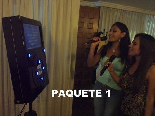 renta rockola -karaoke fiesta
