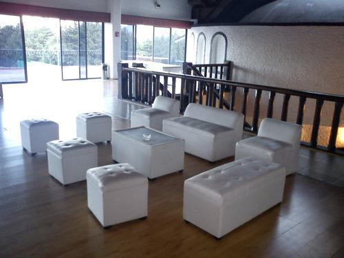 renta salas lounge,