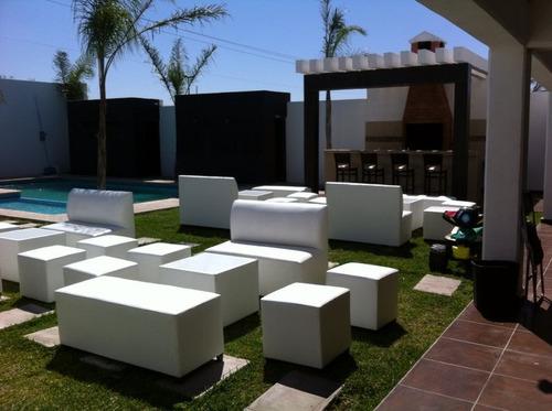 renta salas lounge en monterrey desde $250 pesos
