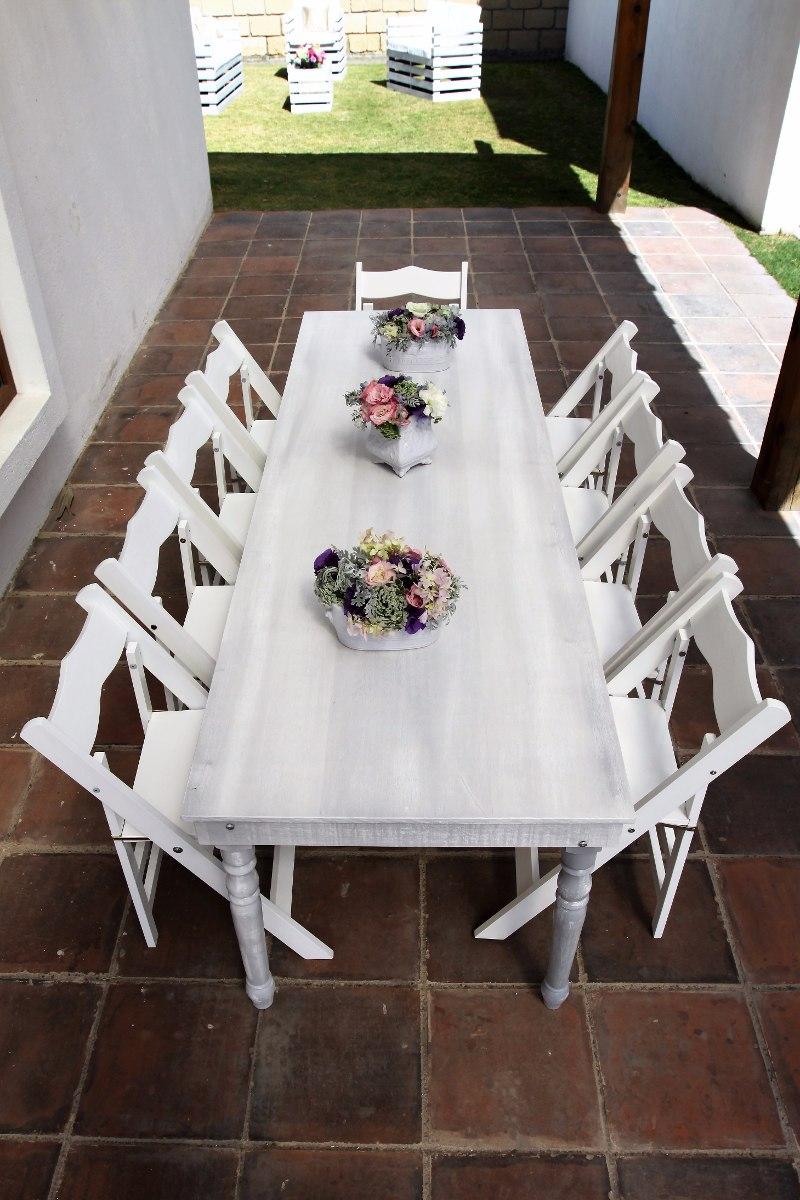 Renta sillas mesas y salas vintage en mercado libre for Alquiler mesas sillas