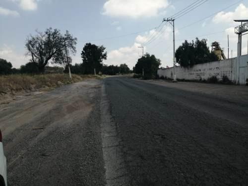 renta terreno carretera federal, reyes acozac sup 2.5 has