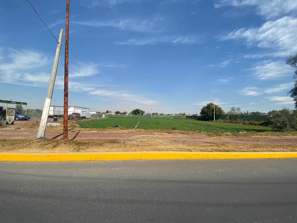 renta terreno comercial en ozumbilla tecamac 6018m2