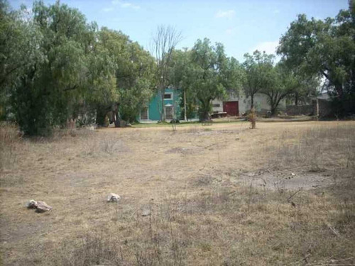 renta terreno en ex hacienda san nicolas la redonda