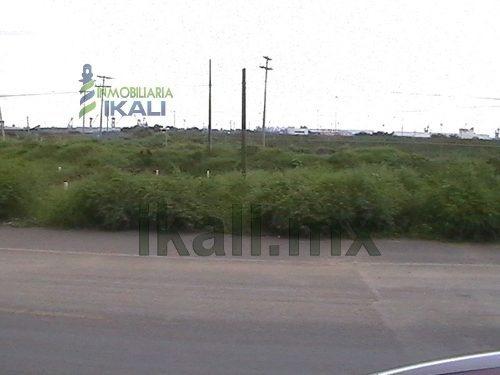 renta terreno en tuxpan veracruz 15.2 hectáreas zona industrial, frente apitux (administración portuaria integral de tuxpan) sobre el libramiento portuario, en el corredor industrial del puerto, se r