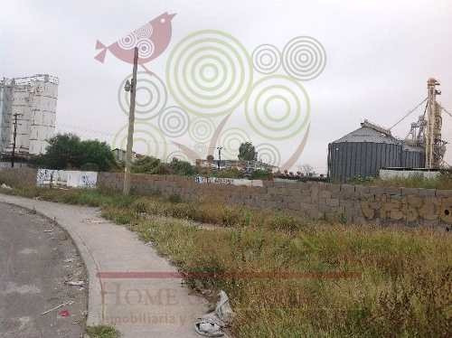 renta terreno en zona industrial de 6,100 m2 de terreno con