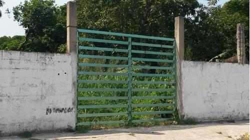 renta - terreno grijalva, frontera, centla, tab