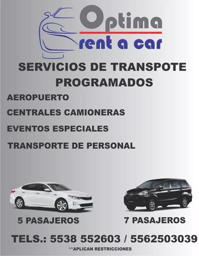 renta vehicular