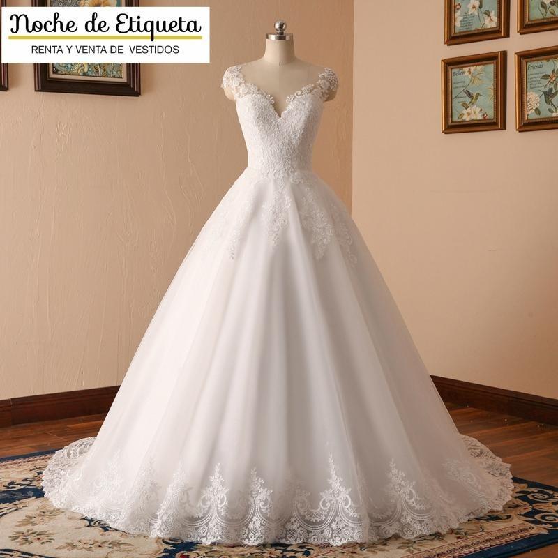 Renta Vestido De Novia Nuevo Corte Princesa Blancomarfil
