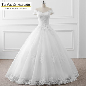 Renta Vestido Novia Nuevo Corte Princesa Blancomarfil
