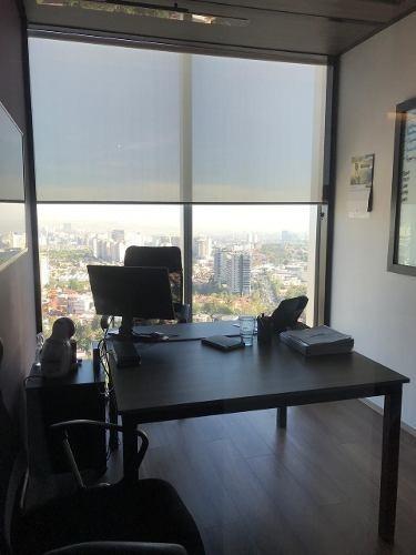renta y venta de oficina en espacio santa fe