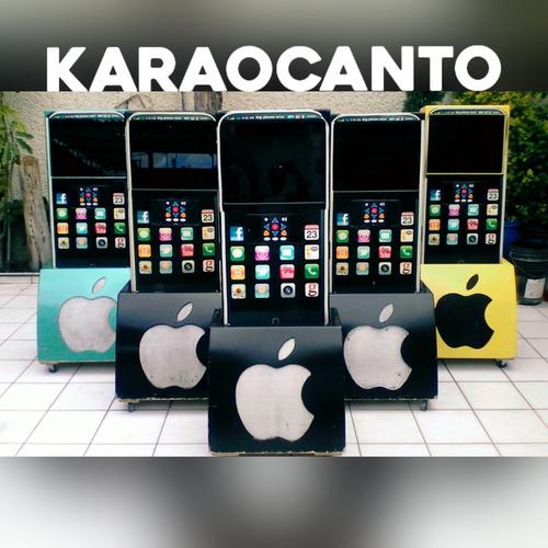renta y venta de rockola karaoke big iphone , luz y sonido