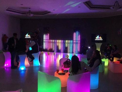 renta y venta de salas led. audio dj, karaoke