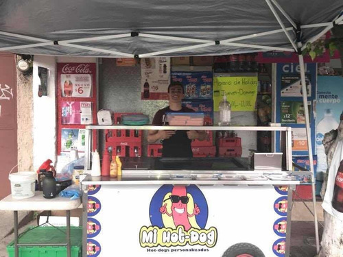 renta/venta de carrito de hot dogs