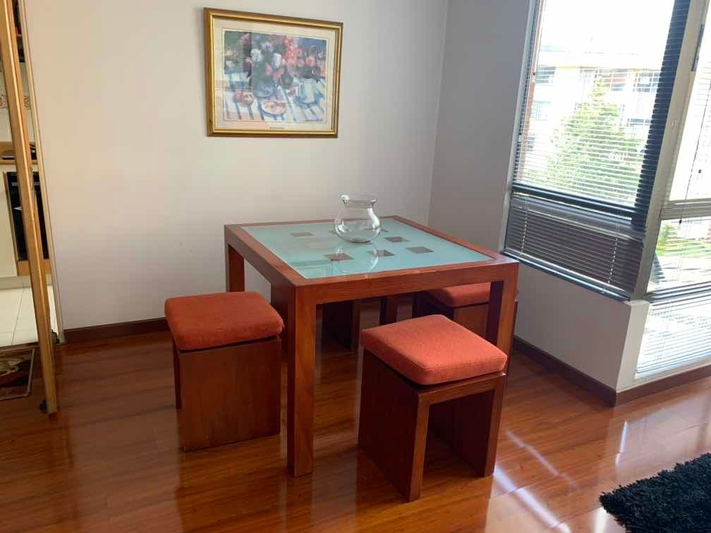 rento apartamento amoblado 2 cuartos y estudio