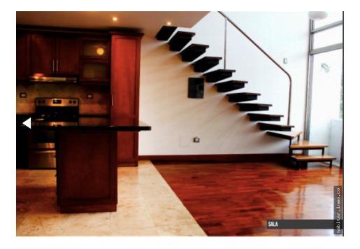 rento apartamento loft zona 15 vista hermosa i