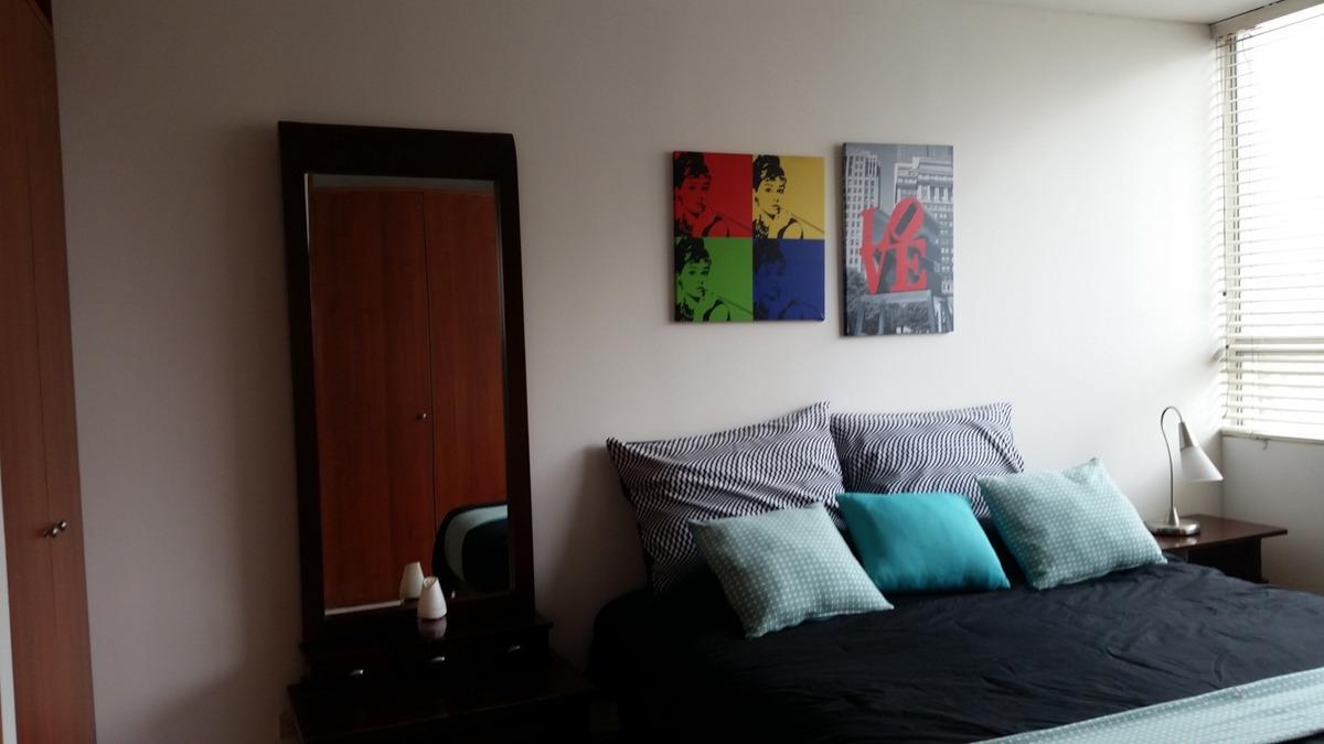 rento apartamentos amoblados bogota. norte y ciudad salitre