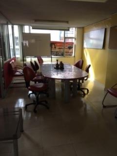 rento - arriendo oficina 115 m2, av 10 de agosto - amoblada
