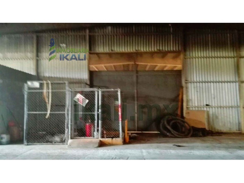 rento bodega 1500 m² zona industrial altamira tamaulipas, esta bodega consta con 900 m² de área techada y 600 m² de área sin techar la cual tiene unas bases para tanques de almacenamiento que abarcan