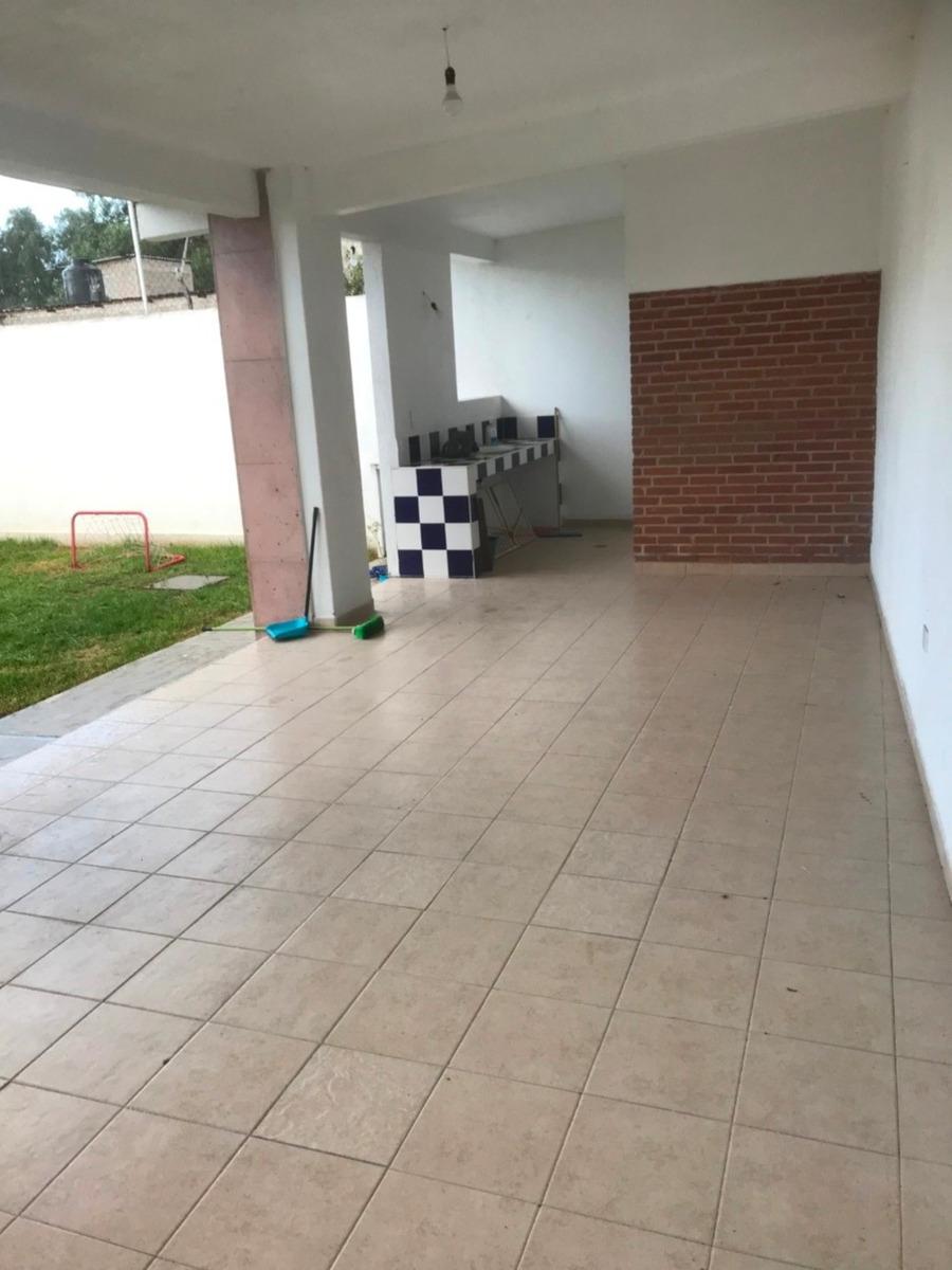 rento casa nueva en san andres chiautla.(texcoco)4 recamaras