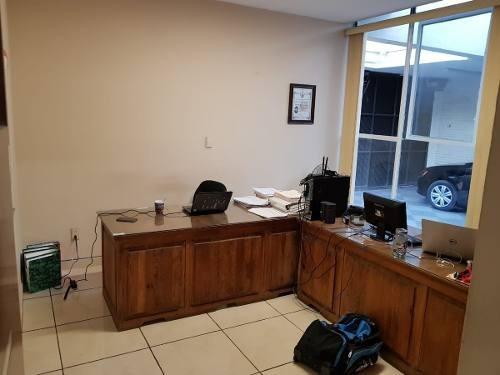 rento casa una planta para oficinas en la col la paz, puebla