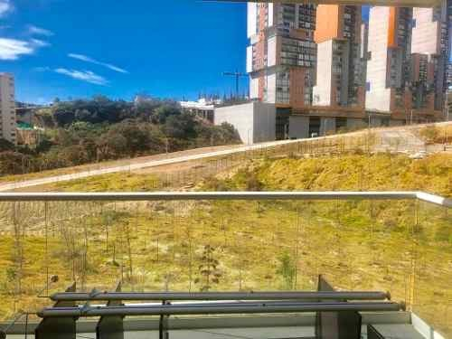 rento departamento con jardin en towers bosque real