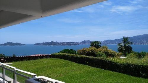 rento departamento en acapulco espectacular vista a la bahia