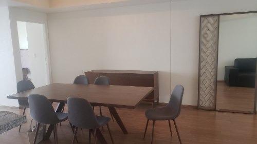 rento departamento - interlomas - central park - amueblado
