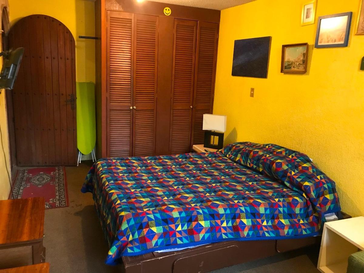 rento habitación amueblada al sur del df