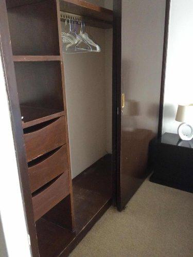 rento habitacion amueblada y con servicios. col. del valle