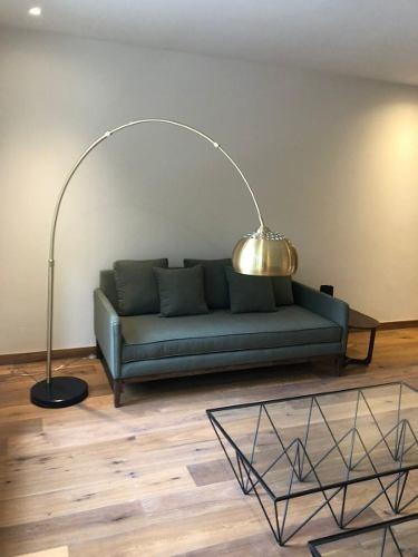 rento hermoso departamento amueblado de 175 m2 en polanco