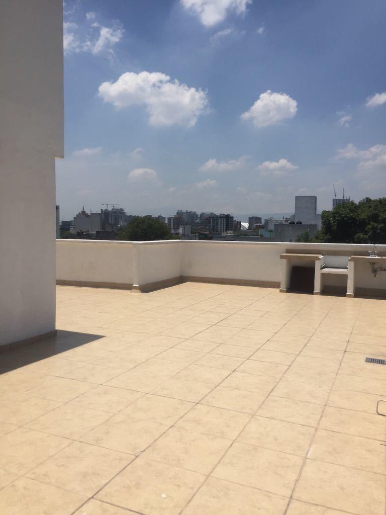 rento hermoso departamento de 94.3 m2 en gabriel mancera. rg-503