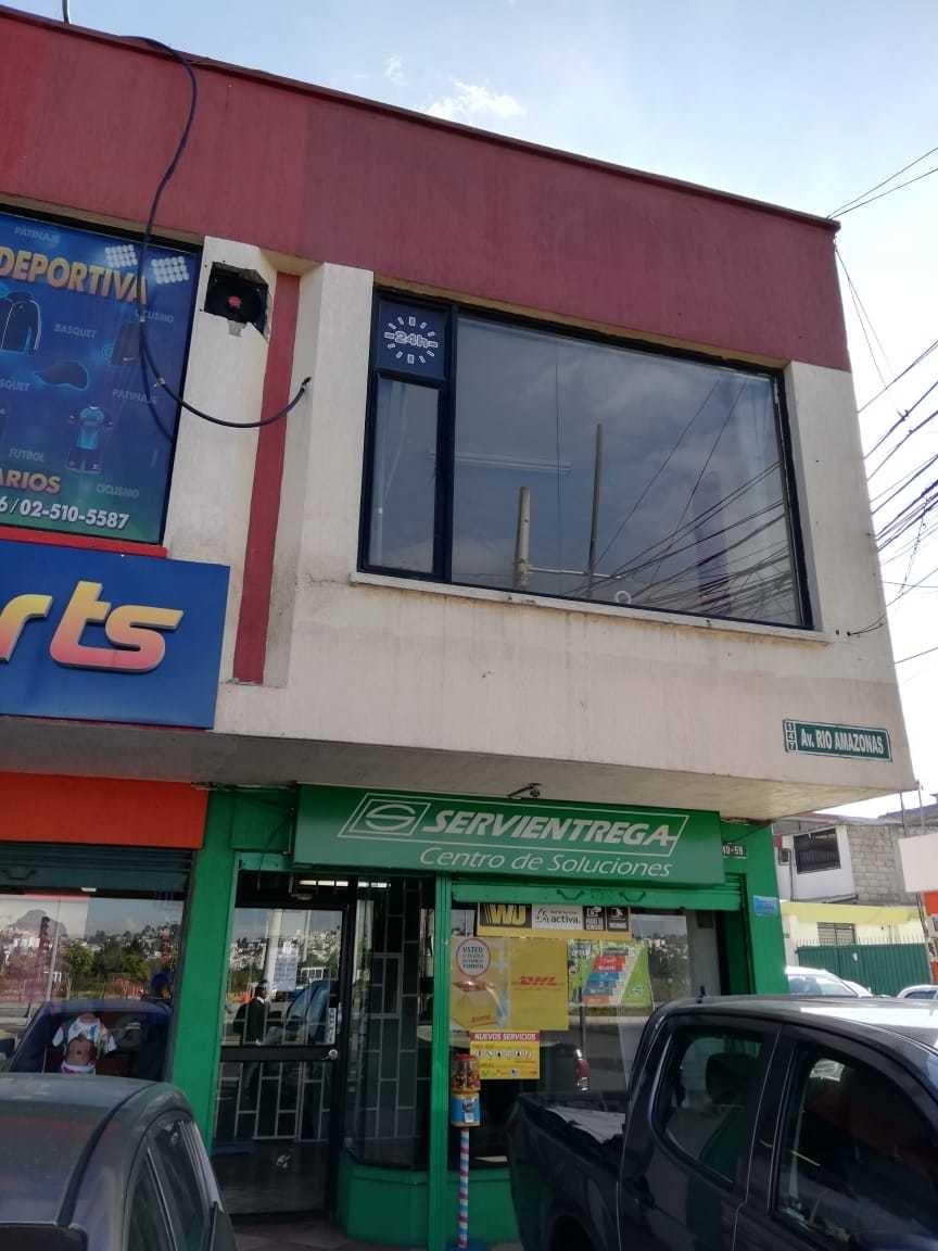 rento local comercial en avenida amazonas y río curaray