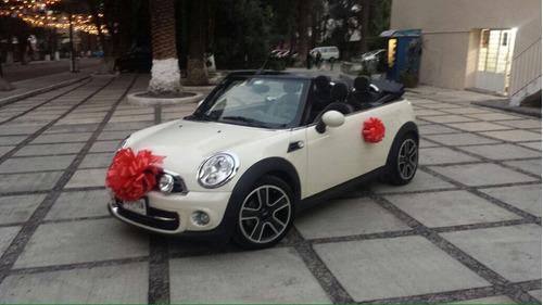 rento mini convertible bodas xv años comerciales traslados