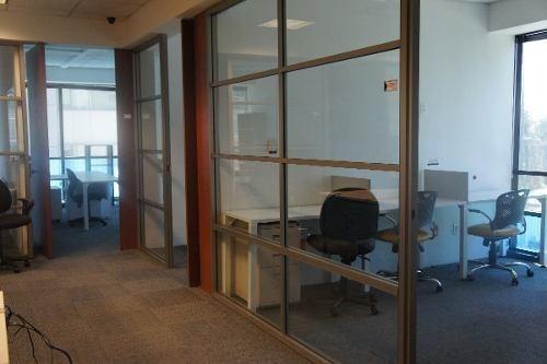 rento oficina en exclusiva zona de santa fe