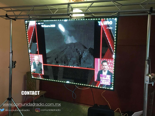 rento pantallas equipo audio & video cdmx/edomex