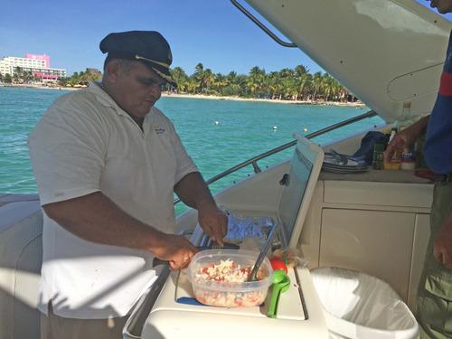 rento precioso yate italiano en cancun