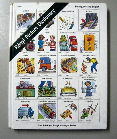 rényi picture dictionary - portuguese and english