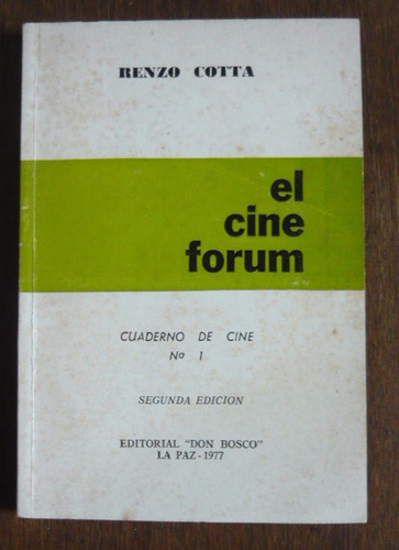 renzo cotta - el cine forum