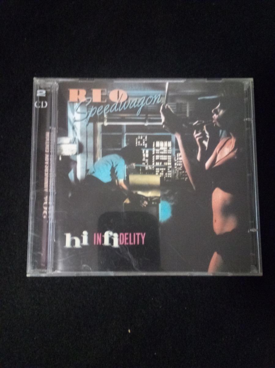 Reo Speedwagon Hi-infidelity 30th Anniversary Rock Pop Cd - $ 210 00