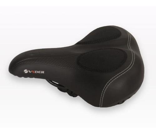 rep asiento bicicleta playero vader con gel resortes comodo